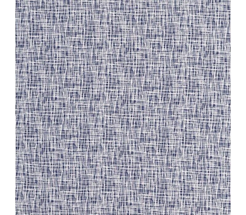 Tricot Criss Cross White Blue