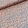 De Stoffenkamer French Terry Coral grey Leopard