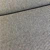 De Stoffenkamer Linen Mix Washed grey stripes