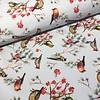De Stoffenkamer Softshell lightblue Birds