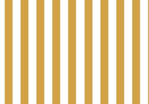 Elvelyckan Vertical Stripes Oker - Elvelyckan Design