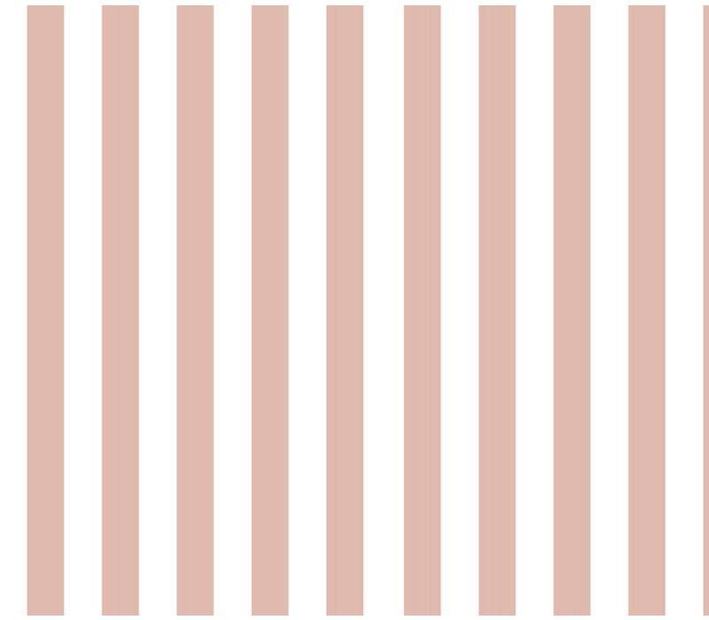 Vertical Stripes Pink - Elvelyckan Design