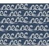 Elvelyckan waves dark blue - Elvelyckan Design