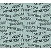 Elvelyckan Weekdays dusty mint - Elvelyckan Design