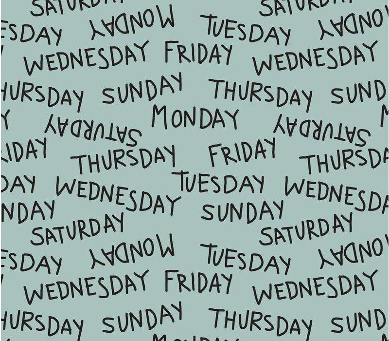 Weekdays dusty mint - Elvelyckan Design