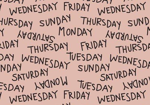 Elvelyckan Weekdays dusty pink - Elvelyckan Design