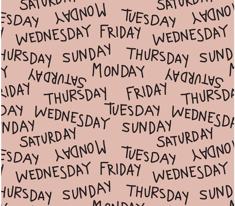 Weekdays dusty pink - Elvelyckan Design