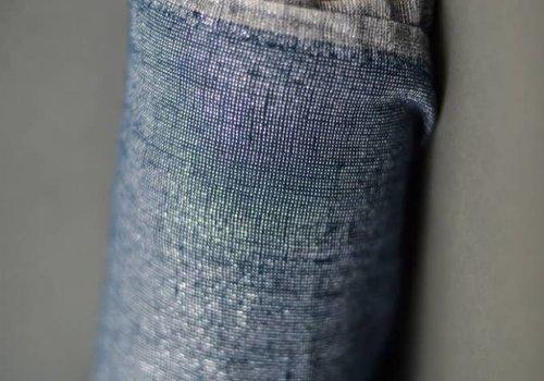 De Stoffenkamer Washed Linen Night Blue Luxe