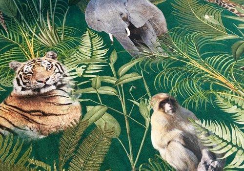 De Stoffenkamer Stevige katoen Jungle