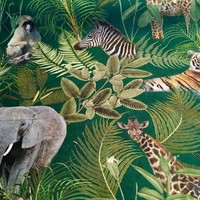 Stevige katoen Jungle