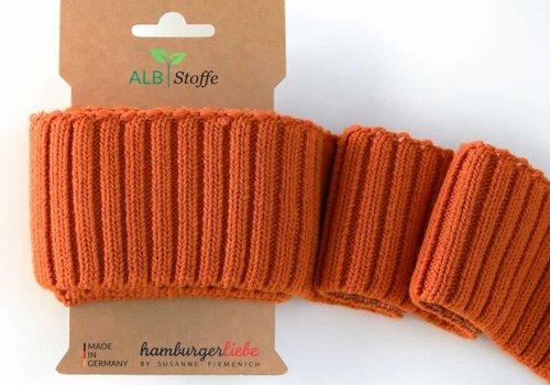Albstoffe - Hamburgerliebe Cuff Me Cozy Oranje