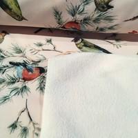 Softshell Pink Birds