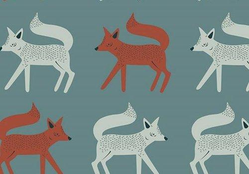 Art Gallery Capsule Campsite Foxes