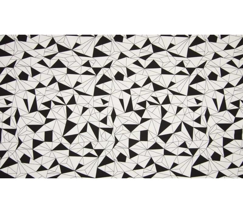 Tricot Black & White Geo Shapes