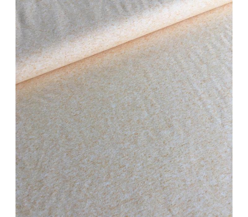 Linen mix tricot Light oker