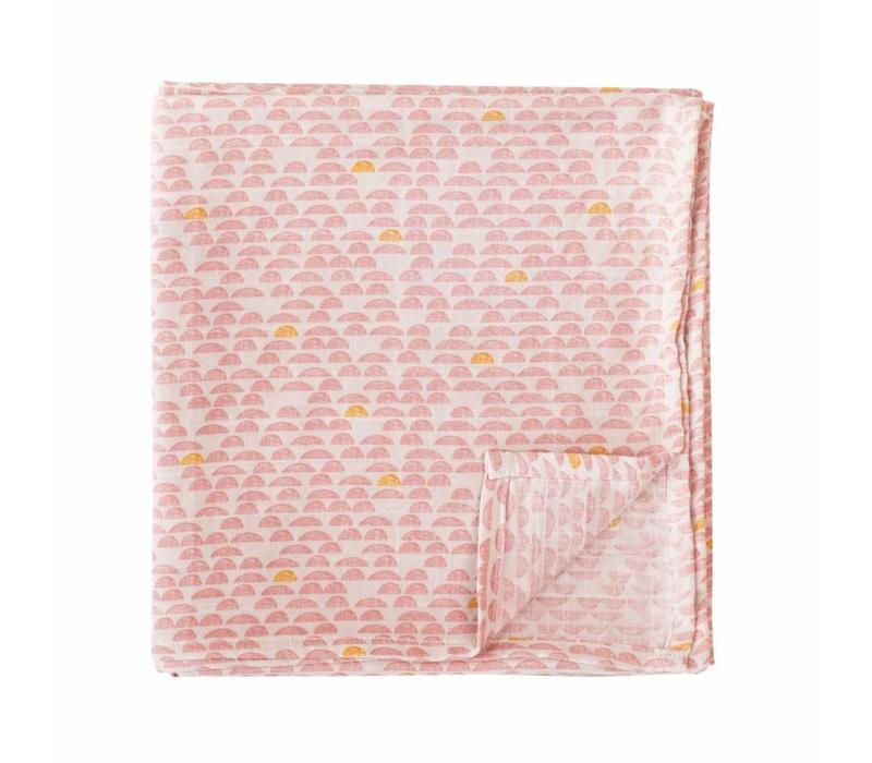 Pebble Pink Tetra Muslin