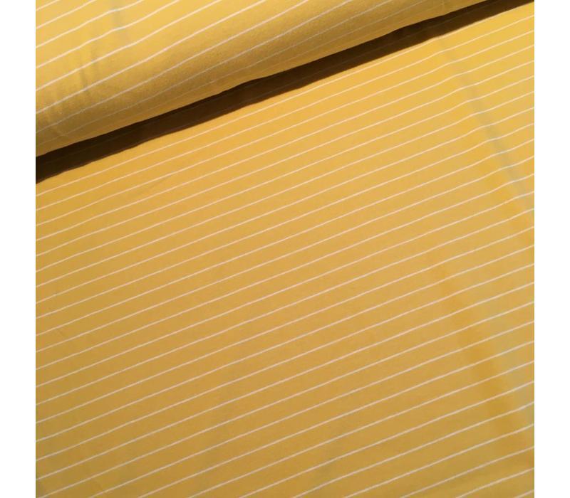 Yellow striped Knit