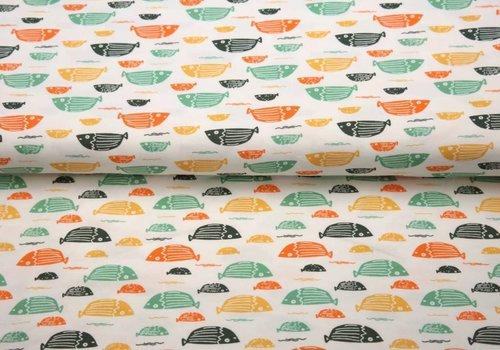 Stenzo BIO Tricot Stenzo multicolor fish