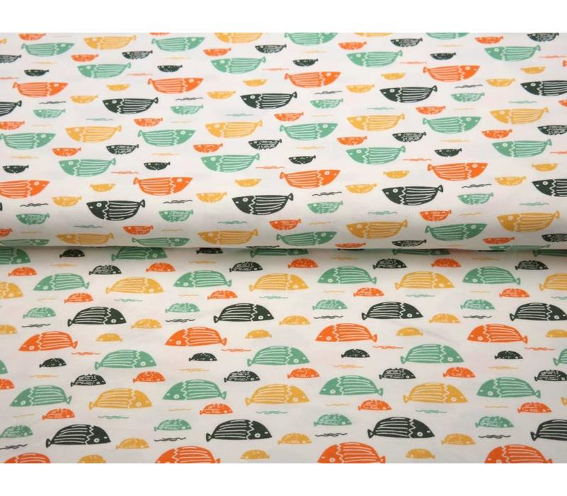 BIO Tricot Stenzo multicolor fish