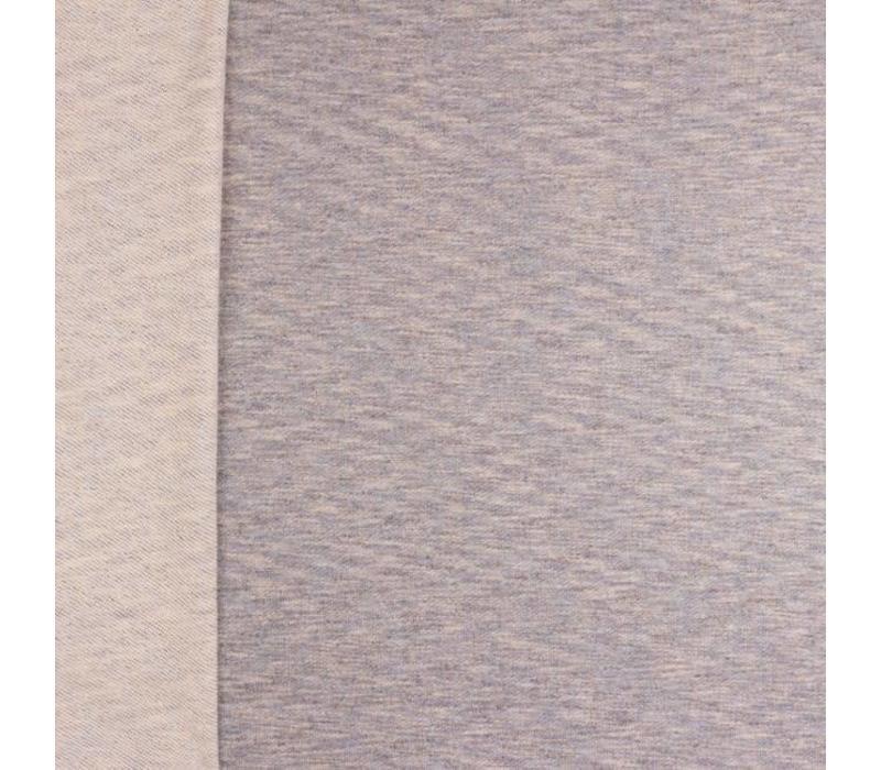 Summer Sweater Grey Blue  Melange