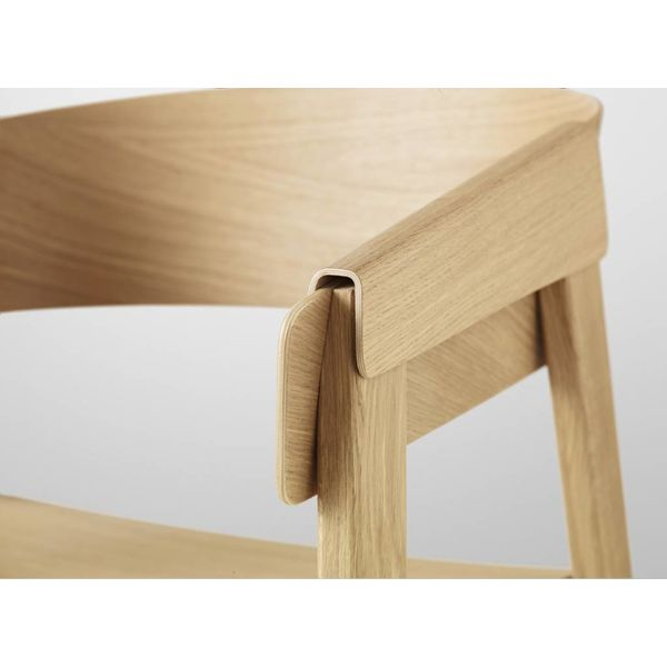 Muuto Cover Chair wood seat