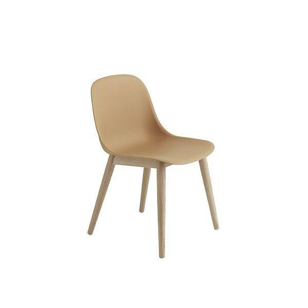 Muuto Fiber Side Chair normal shell woodbase