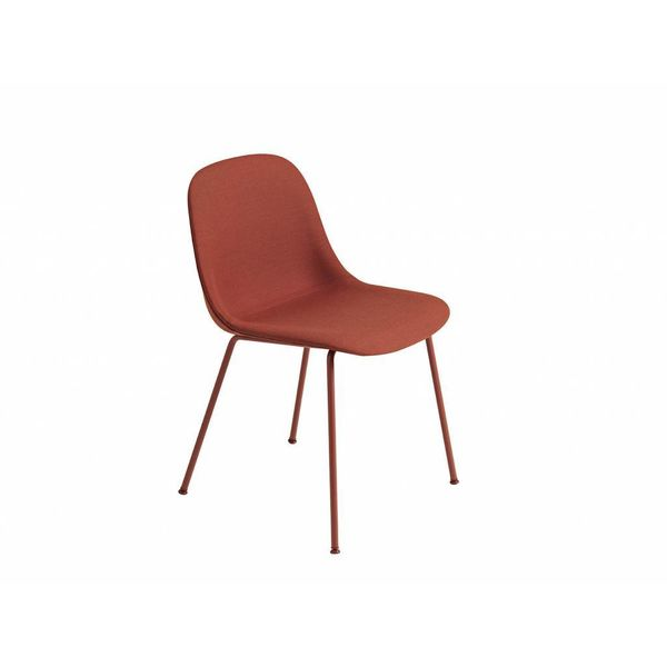 Muuto Fiber Side Chair textile / leather tube base