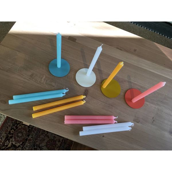Van Vrienden BOND 10 kaarsen incl. 1 magneet  zonder schijf