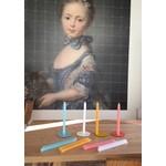 Van Vrienden BOND 10 kaarsen incl. 1 magneet + blad 21 cm