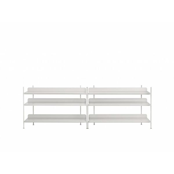 Muuto COMPILE SHELVING SYSTEM / CONFIGURATION 6 / CONFIGURATION 6 Grey