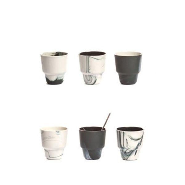 Vij5 Pigments & Porcelain cups set