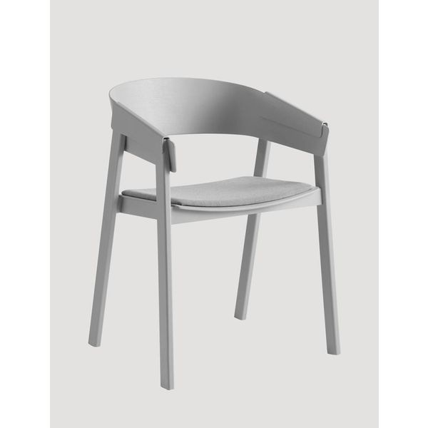 Muuto Cover Chair textile /  leather seat