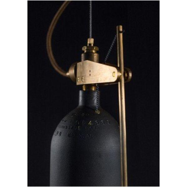 Akko Goldenbeld Bellamp L:30 cm Diameter: 14 cm