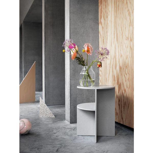 Muuto halves side table light grey
