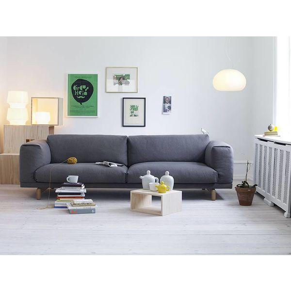 Muuto Rest Sofa 3-seater