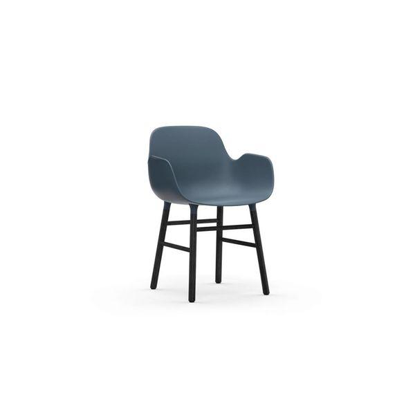Normann Copenhagen Form Armchair Black legs