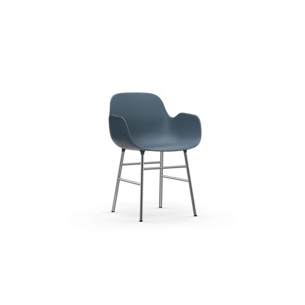 Normann Copenhagen Form Armchair Chrome legs