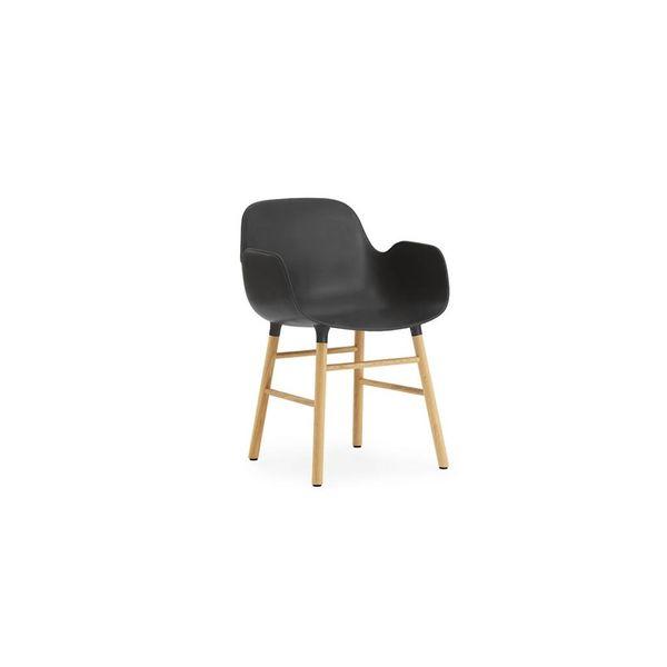 Normann Copenhagen Form Armchair Full Upholstery Oak legs