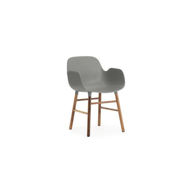 Normann Copenhagen Form Armchair walnut legs
