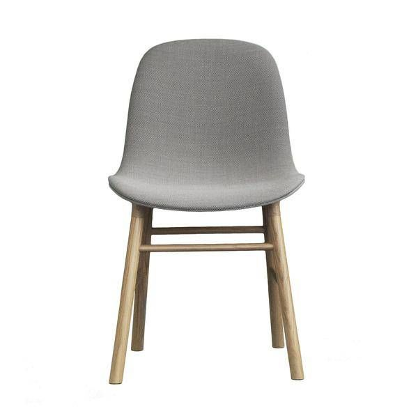 Normann Copenhagen Form Chair Full Upholstery Oak legs