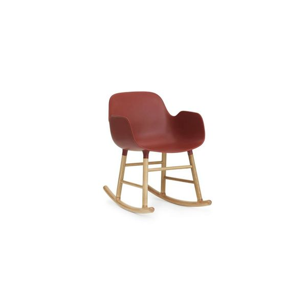 Normann Copenhagen Form Rocking Armchair Oak legs