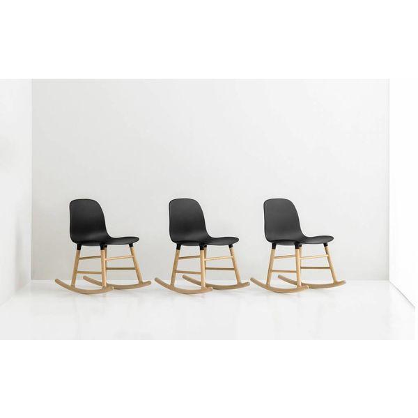 Normann Copenhagen Form Rocking Chair Walnut legs
