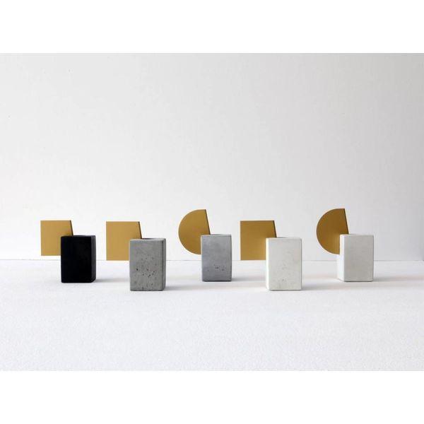 Isabel Quiroga Concrete candleholder