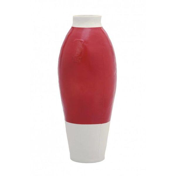 Thomas Eyck Red white vase