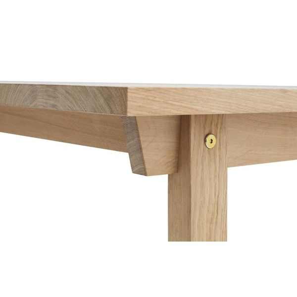 Normann Copenhagen Slice Table oak