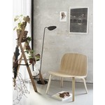 Muuto Visu Lounge Chair wood shell