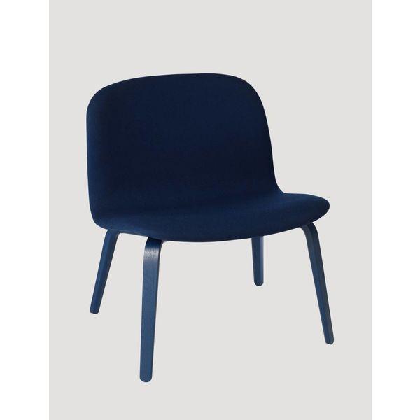 Muuto Visu Lounge Chair textile / leather shell