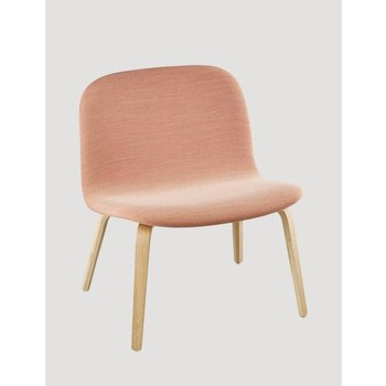 Muuto Visu Lounge Chair textile / leather shell