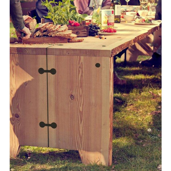 Weltevree Forestry table 6 persoon showroommodel