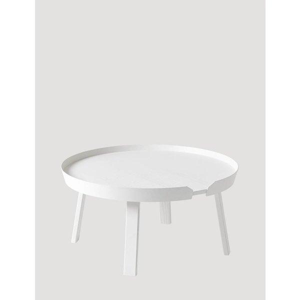 Muuto Around Coffee Table  large White showroommodel
